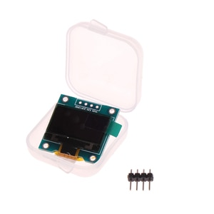 0.96inch IIC Serial White OLED Display Module 24*13mm LCD for Arduino OLED Display Module With Box
