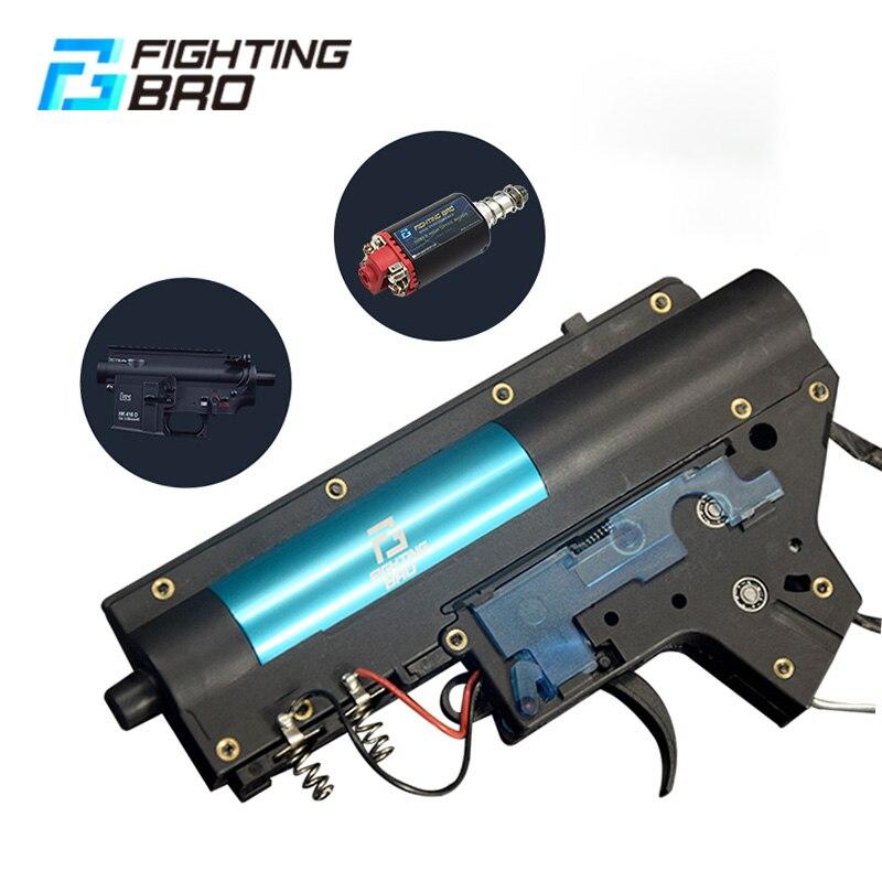 FightingBro 4.0 Engine Airsof Gel Blaster Gearbox V2 Paintball Accessories Nylon Update BD556 Maopul TTM LDT416 Tactical Air Gun