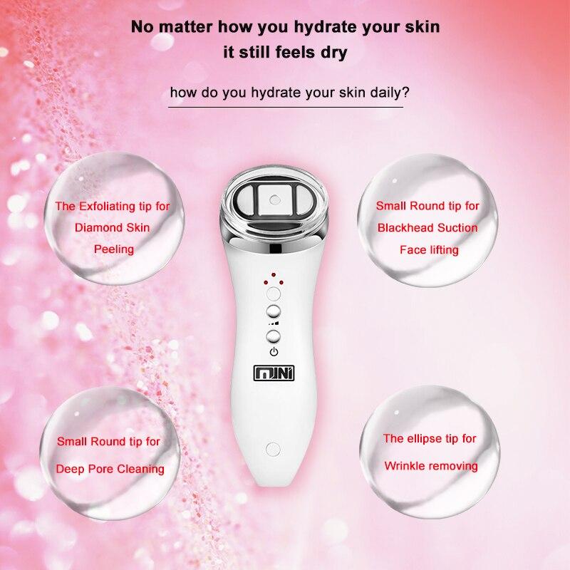 Laser Epilator Permanent IPL Photoepilator Hair Removal With Mini HIFU Ultrasound Face Lifting Anti Wrinkles Skin Care Machine enlarge