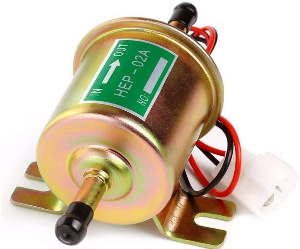Pompe à carburant électrique universelle basse pression HEP-02A 12V 24V, haute qualité, pour voiture et moto