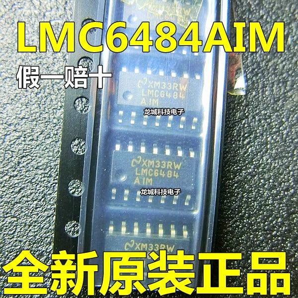 LMC6484AIM LMC6484BIM LMC6484IM SOP14