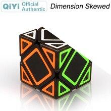 QiYi Dimension Skewed Magic Cube Skewbed Cubo Magico 전문 네오 스피드 큐브 퍼즐 안티 스트레스 완구 어린이를위한