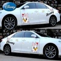 disney cute cartoon donald duck car sticker body car door scratch block decorative sticker ornament
