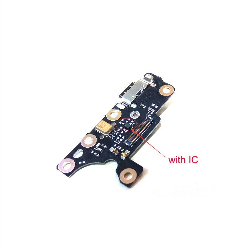 Para Nokia 7 más 7 + TA-1049 1055 USB 1062 USB puerto de carga conector de base de pieza de Cable flexible