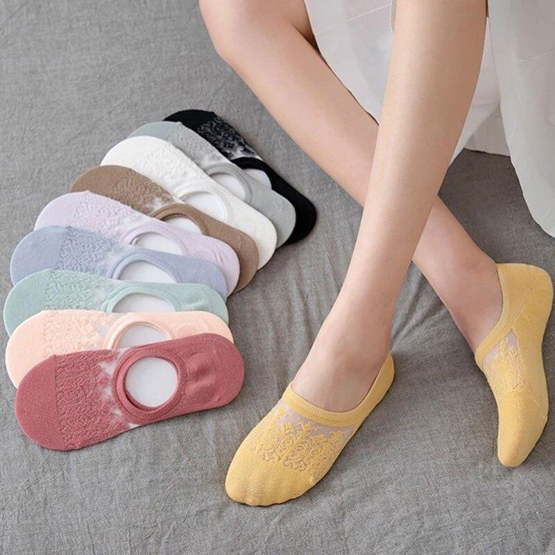 Доставка носков, женские невидимые сетчатые носки, низкие носки, летние неглубокие носки, тонкие хлопковые носки, международная торговля