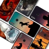 horse animal painting pattern phone case for huawei honor10lite 10i 20 8x 10 funda for honor9lite 9xpro back coque
