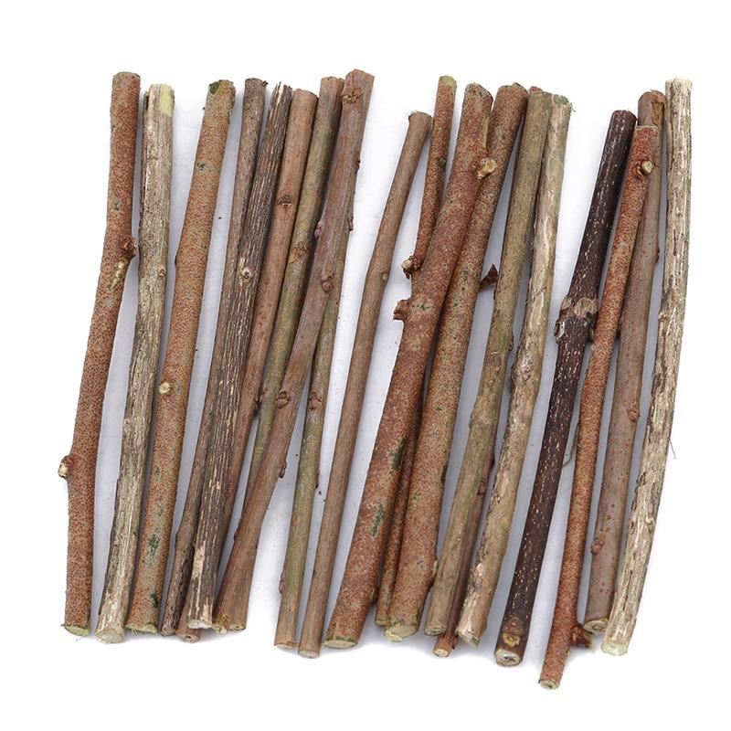 20 PCS/pack Original Natural Small Sticks DIY Material Suitable For Garden Wedding Table Decoration craft