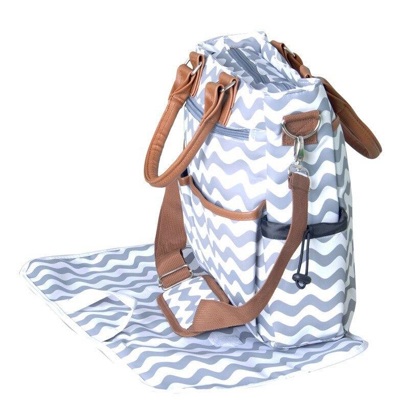 2021 Baby Diaper Bag For Mom Fashion Mummy Maternity Nappy Bag Waterproof Large Capacity Baby Bag Organizer 33*35*15cm