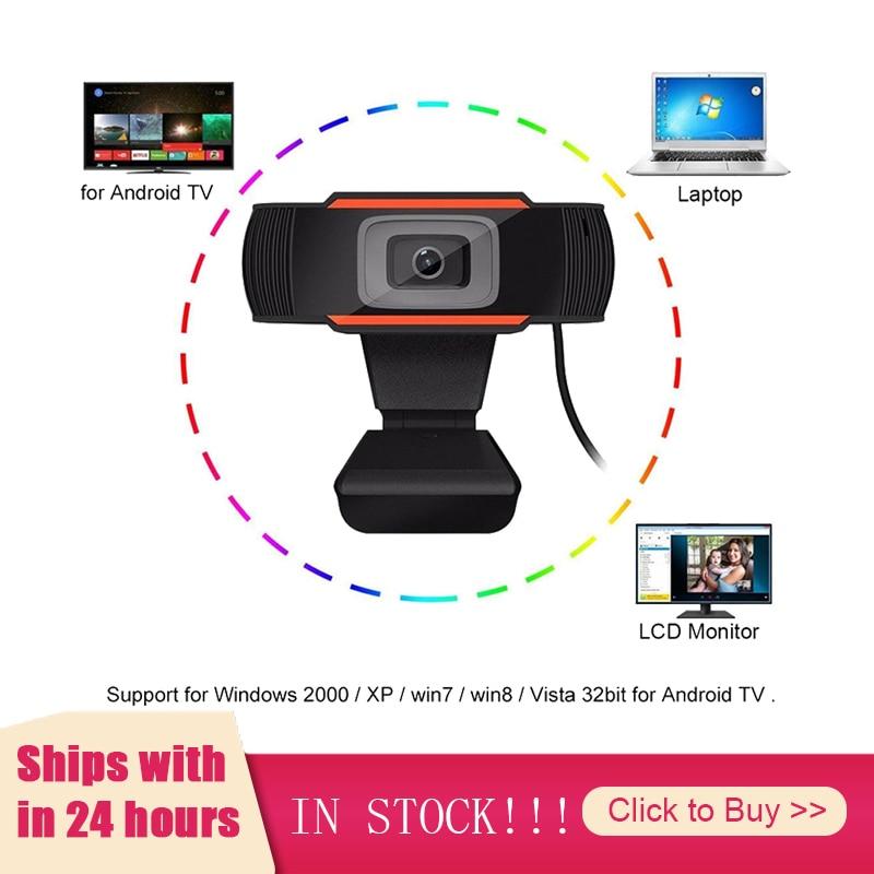Фото - USB 2,0 ПК камера высокого качества 1080P видеозапись HD веб-камера с микрофоном веб-камера для компьютера веб-камера для ПК ноутбука веб камера
