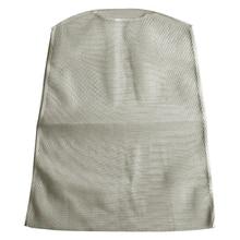 Organizador colgante de almacenamiento de ropa de limpieza con cremallera para el hogar, bolsa de secado para lavado, almohada, rejilla, red, muñeca de poliéster
