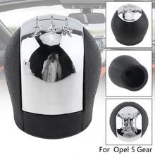 5 Speed ABS Plastics  Manual Transmission Gear Shift Knob for Opel / Vauxhall Vectra CVectra B Corsa Astra / 5 Gear Models