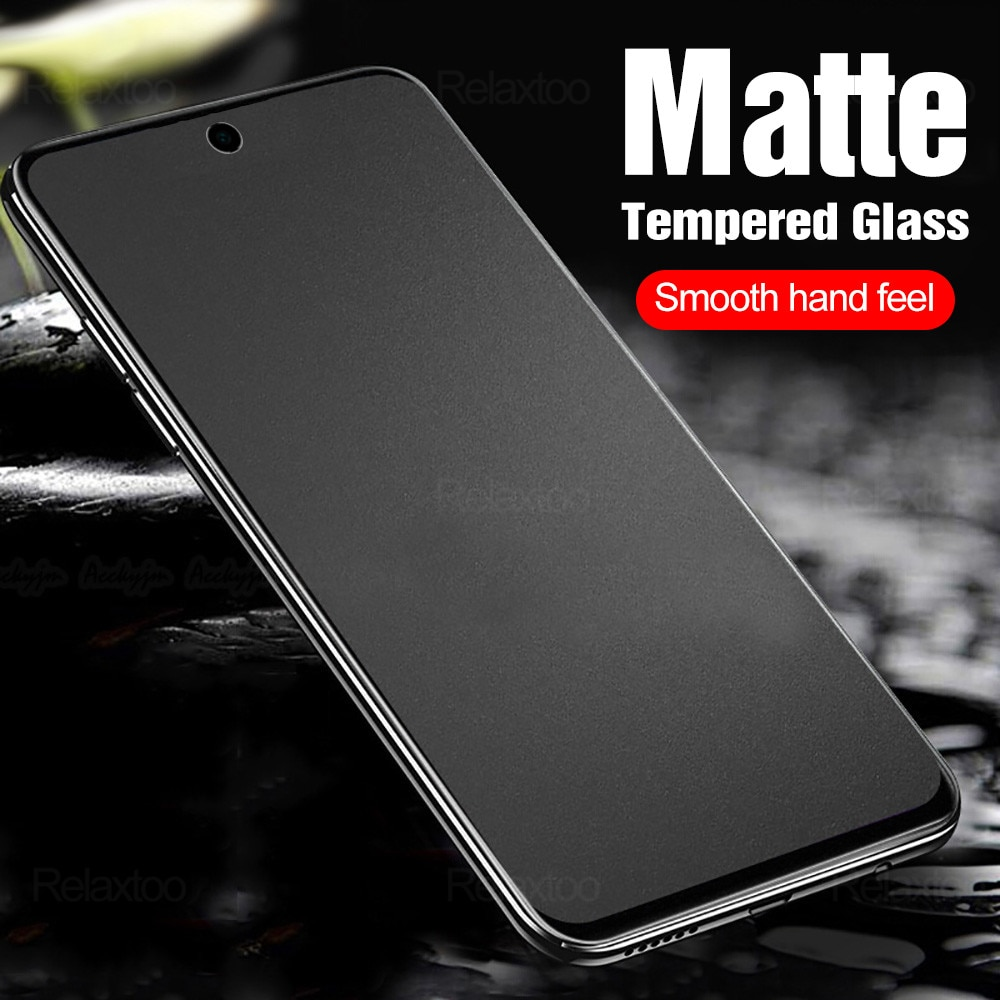 frosted-matte-protective-glass-for-xiaomi-mi-10t-pro-redmi-note-7-8-9-9s-8t-9a-8a-7a-9c-poco-x3-nfc-screen-protector-film-cover