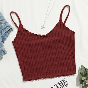 Women Tops Solid Tanks Sleeveless Pullover Vest Tank Shirts Camis Top Women Fashion Spaghetti Strap Tops Streetwear Summer R5