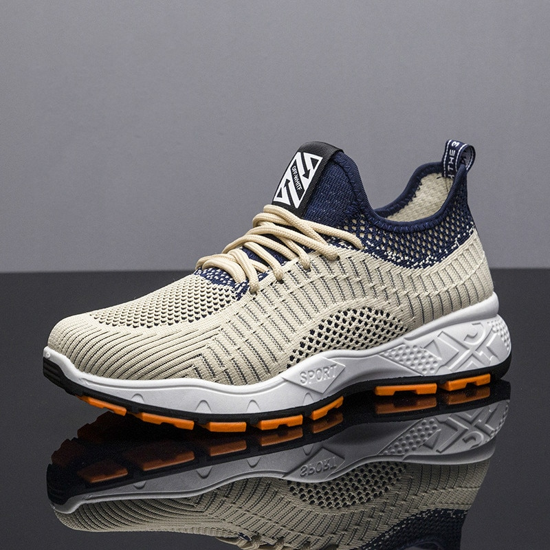 Кроссовки мужские дышащие сетчатые, легкие повседневные Сникерсы для тенниса, спортивная обувь, черные кроссовки мужские сетчатые дышащие легкие повседневные удобные сникерсы для прогулок