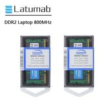 Latumab 4GB 8GB DDR2 800mhz PC2 6400 Laptop Speicher SoDimm Speicher Ram 200 Pins Hohe Qualität Notebook modul SODIMM 1,8 V RAM