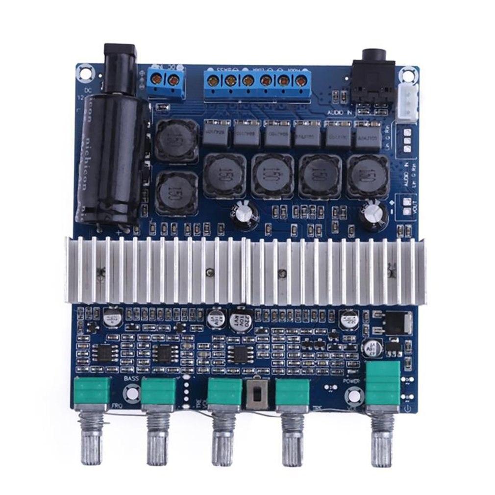 Placa de Amplificador 50wx2 + 100w Faça Você Mesmo Digital 12-24v Super Baixo Alto-falante Módulo Peças Componente Tpa3116 2.1