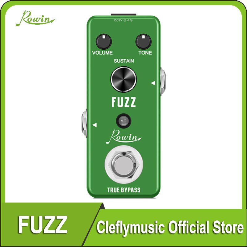 Rowin LEF-306 Guitar Fuzz pedal Traditional Fuzz effect,plump and rich недорого