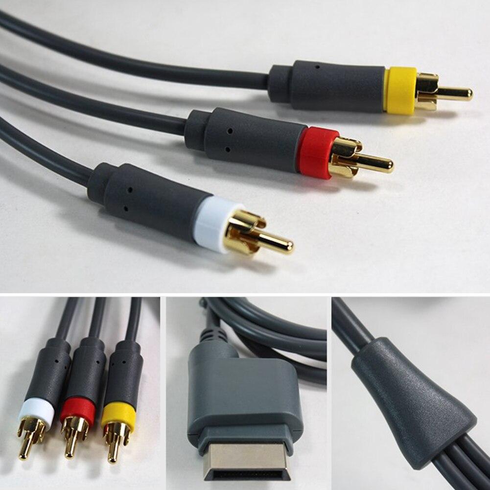 Cable de Audio AV HD para TV, accesorio ligero y duradero Compatible...