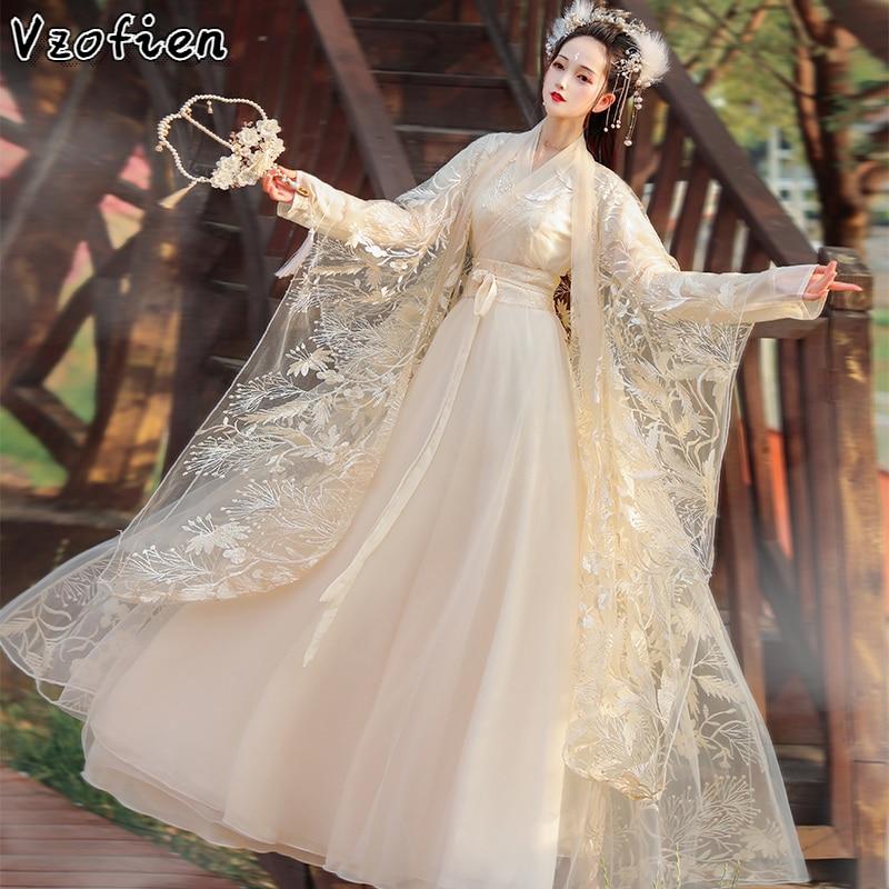 Hanfu Clothing Ancient Chinese Costume Hanfu Dress Women Elegant Princess Costume Tang Dynasty Fairy Dress Cosply Clothes