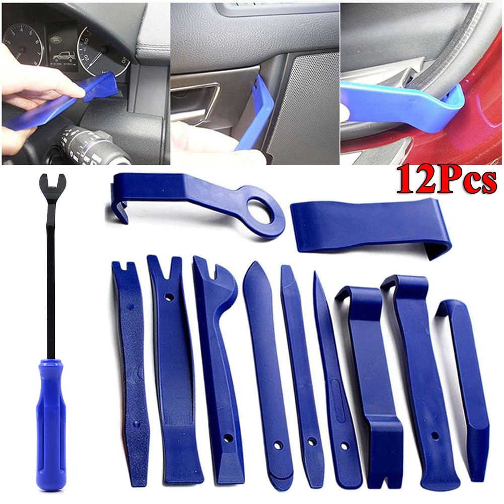 Car Trim Removal Tool Kit Set Interior Audio Removal Trim Door Panel Dashboard Car Removal Hand Tool Special Disassembly Tool