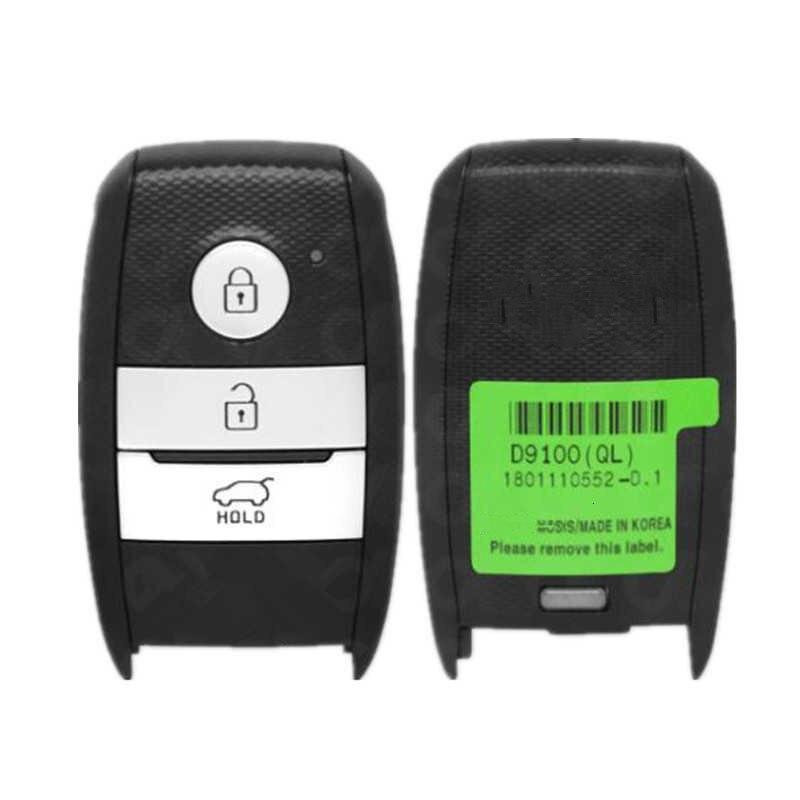 For GENUINE KIA SPORTAGE 2016 2017 2018 3B UTTONS 433MHz 95440D9100 SMART REMOTE 95440 D9100 Genuine Smart Key Remote Blade