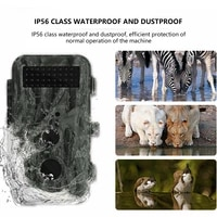 1080p trail cameras waterproof hd 16million pixels infrared thermal sensor video hunting camera for monitoring observed game cam