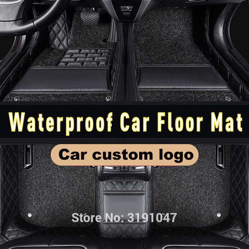 Alfombrillas de coche CARFUNNY resistentes al agua para accesorios subaru xv 2018...