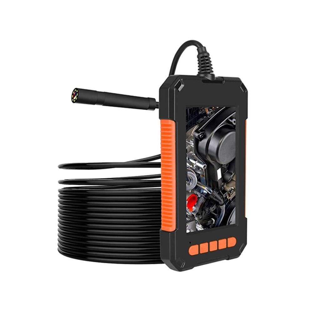 Câmera de Alta Polegada com 8 Endoscópio Definição Tela Dual Lens Câmera Cobra Inspeção Handheld Ip67 Levou 8mm 1080p 4.3