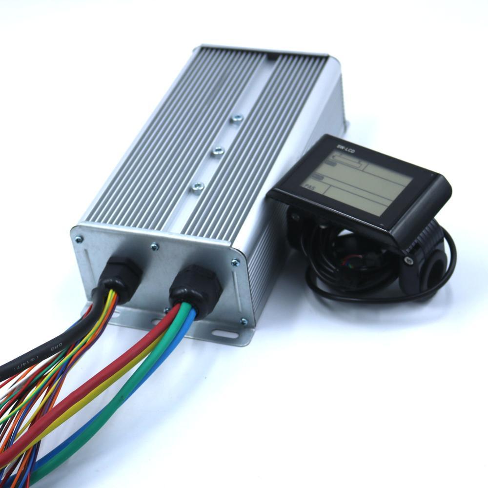 GREENTIME 24 MOSFET 48-72V 3000W 80Amax BLDC контроллер двигателя, EV Бесщеточный Регулятор скорости