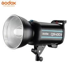 Godox QS400II 400Ws Professionale Dello Stroboscopio Dello Studio 5600K Temperatura di Colore con Built-in 2.4G Trasmettitore Senza Fili X Sistema di Aggiungere X1T