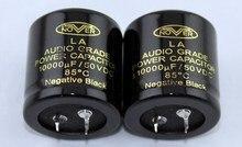 2 قطعة جديد NOVER 10000 فائق التوهج/50V 35x35 مللي متر الصوت الصف مُكثَّف كهربائيًا LA 50V10000UF ايفي الطاقة 10000 فائق التوهج 50V