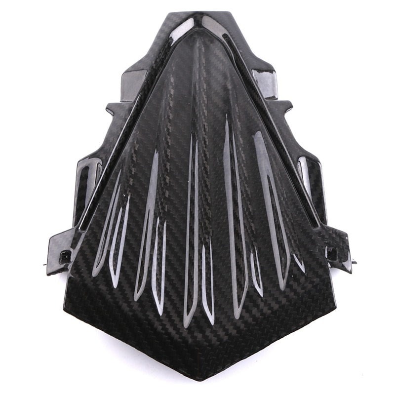 Motocicleta de fibra carbono vento defletor windshield farol carenagem kits capa para yamaha t max 530 tmax 530
