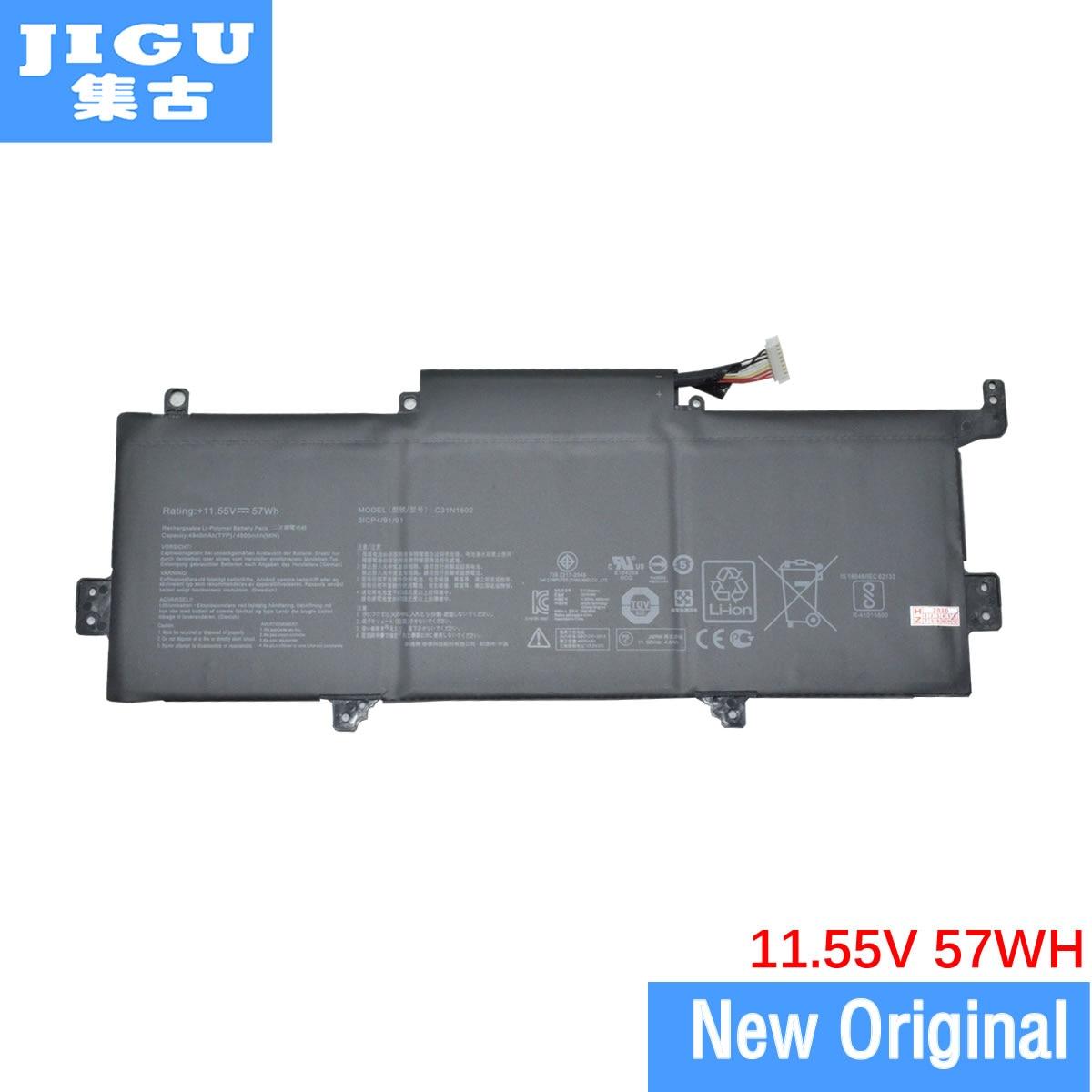 Batería Original para portátil JIGU C31N1602 0B200-02090000 para ASUS UX330UA UX330UAK para Zenbook UX330UA