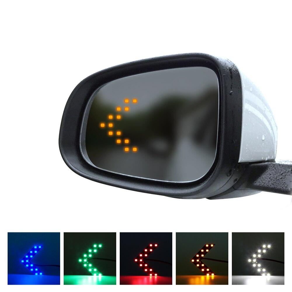 2 pçs carro led espelho traseiro luz para 911 996 panamera macan boxster 986 987 981