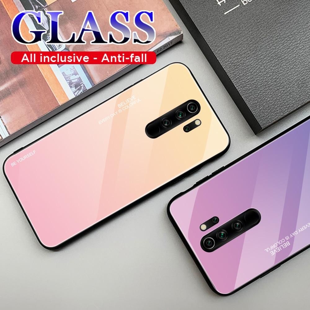 Para Xiaomi Redmi Note 9S 8T 7 8 5 6 K30 K20 9T Pro Max 8A 7A 6A Mi 9 Note 10 9T Pro A3 8 Lite, funda de vidrio templado para teléfono