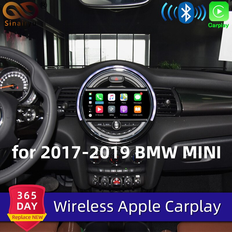Sinairyu беспроводной Apple Carplay для BMW Mini EVO 6,5 дюймов/8,8 дюймов экран 2017-2019 Airplay Android авто Apple зеркальное воспроизведение автомобиля