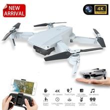 2020 MINI Drone caméra 4K WIFI FPV aérien vidéo RC quadrirotor Altitude tenir pliable 4K Drone avec caméra HD Quadrocopter VS E68