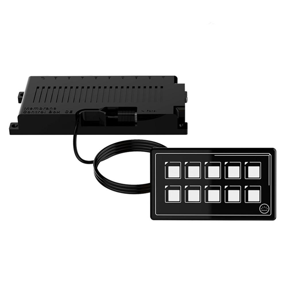 IP67 مقاوم للماء سيارة عالمية 10P غشاء لوحة التبديل التحكم مع الخلفية