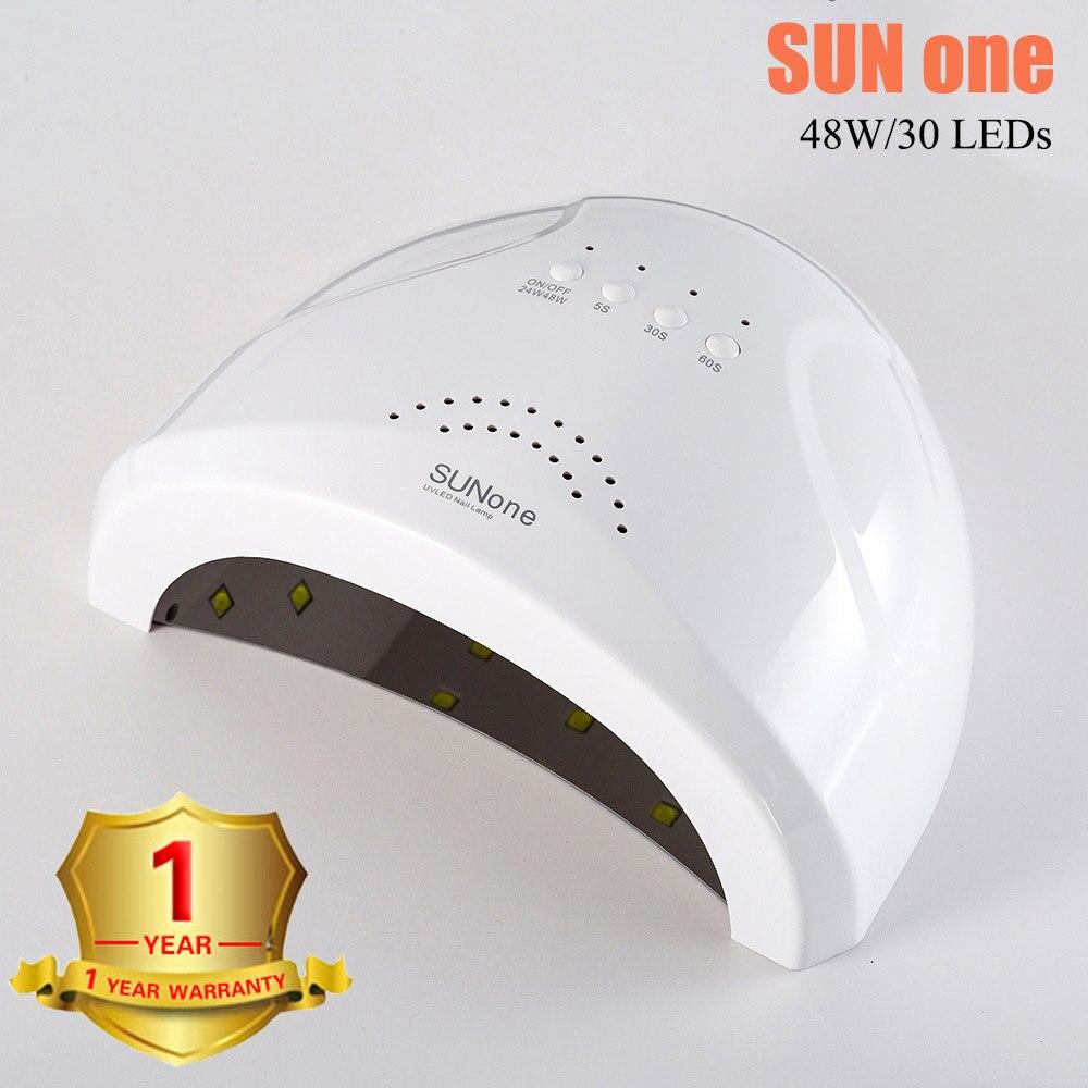 Lamp Voor Nagels Sunone Uv Lamp Gel Polish Machine Curing Lamp Met Bodem Timer Display Sneldrogend Sunuv Lamp Voor manicure