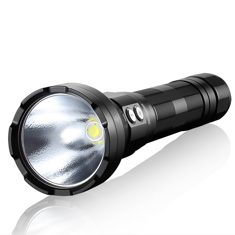 Original Jetbeam SSR50 LED Flashlight CREE XHP70.2 P2 3650LM Rechargeable Flashlight with USB Charging for Policing,Searching enlarge