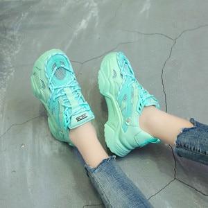 Молодежная обувь для фитнеса; Женская Вулканизированная обувь; Дышащая обувь для бега; Новые тонкие туфли; Женская Модная молодежная обувь ...