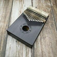 Piano 17 touche doigt Kalimba Mbira Sanza pouce Piano poche taille débutants sac de soutien clavier Marimba bois instrument de musique