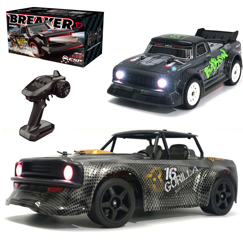 SG 1603 1/16 2.4G 4WD RC Car 30km/h High Speed LED Light Drift On-Road Proportional Control Vehicles