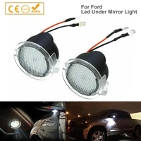 2x car mirror welcome lights lamp high bright led puddle lights for ford f 150 fusion s max flex edge explorer taurus mondeo