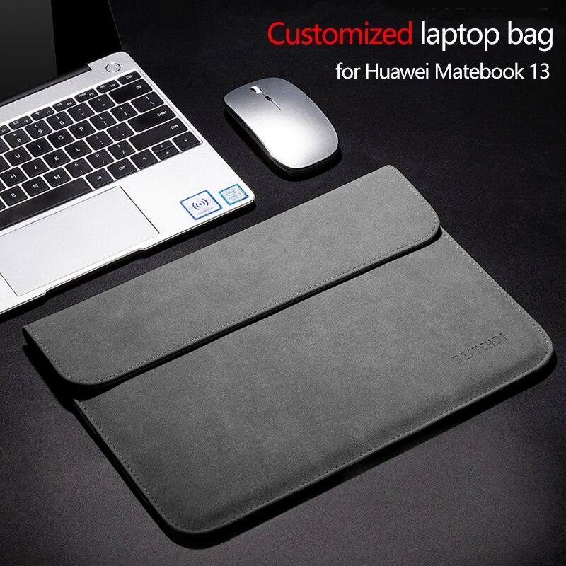 حقيبة مخصصة للكمبيوتر المحمول لهواوي Matebook 13 Honor Magicbook 14 X Pro 13.9 2020 E 16.1 كم للكمبيوتر المحمول Matebook D 14 15 case