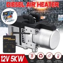 Chauffe-eau universel 12V 5KW 5000W   Kit de chauffage de leau, avec télécommande écran LCD, pour camions à moteur