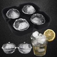 3d silicone ice mould wacky pumpkin making ice cube mold home kitchen bar supplies for whiskey cocktail kitchen accessories