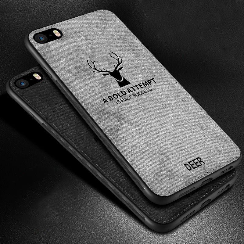Funda trasera rigida de tela para iPhone SE 2020, para Apple, iPhone...