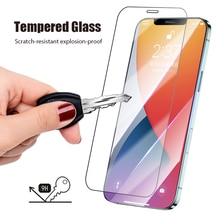 Tempered Glass For iPhone 11 12 Pro Max  SE 2020 Screen Protector case On iPhone 7 8 Plus 6 6S Plus