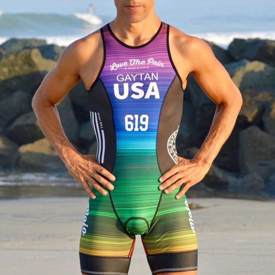 Мужской костюм без рукавов Love The Pain, Триатлон, Велоспорт, Джерси, Майо, ciclismo, одежда, go pro, mtb, Джерси, mujer, одежда для бега